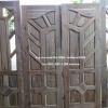 ประตูไม้สักชุด4ชิ้น เกรดB+, B รหัส BBB13