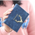 W Short Golden Deer Navy