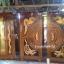 ประตูไม้สักบานคู่ แกะหงส์มังกร ชุด 4ชิ้น เกรด A รหัส AAA60 thumbnail 1