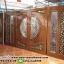 ประตูไม้สักกระจกนิรภัยแกะองุ่น ชุด4ชิ้น รหัสAAA39 thumbnail 1
