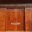 ประตูไม้สักบานเลื่อน ชุด4ชิ้น รหัสAAA36 thumbnail 1