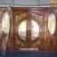 ประตูไม้สักกระจกนิรภัยบานเลื่อนแกะองุ่น ชุด4ชิ้น รหัสAAA21 thumbnail 1