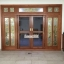ประตูไม้สักกระจกนิรภัยบานเลื่อน ชุด7ชิ้น รหัสAAA05 thumbnail 3