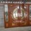 ประตูไม้สักกระจกนิรภัยแกะลีลาวดี ชุด4ชิ้น รหัส AAA147 thumbnail 3