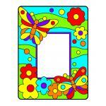 DIY Suncatcher Photo Frame: Design 3
