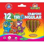 Triangular Crayons 12 Ct.