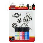 Glass Sticker: Donald Duck