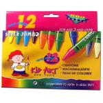 Super Jumbo Crayons Ct. 12