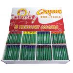 400 Jumbo Size Crayons [50 of each color]
