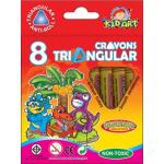 Triangular Crayons 8 Ct.
