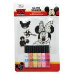 Glass Sticker: Minnie Mouse