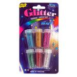 Glitter Metallic 6 pcs / pack
