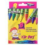 Jumbo Crayons 8 Ct.