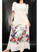 ชุดวินเทจ เดรสยาว Maxi dress เดรสวินเทจญี่ปุ่น
