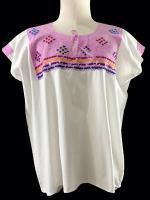 เสื้อวินเทจ Mexican embroidered blouse
