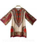 เสื้อวินเทจ Dashiki ( Made In Pakistan )