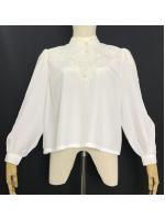 เสื้อวินเทจ White Blouse