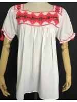 เสื้อวินเทจปักมือ Mexican blouse