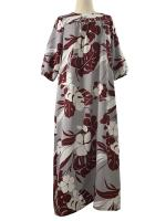 ชุดฮาวาย Maxi Dress Hawaii ( MADE IN U.S.A. )