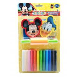 ดินน้ำมันมิกกี้เมาส์ 200กรัม+แม่พิมพ์+ โรลเลอร์ (Micky Mouse 200 g Clay + Mold + Roller)