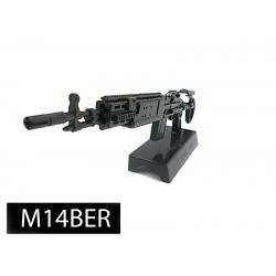 โมเดลปืน 4D Model โมเดลปืนทหาร แบบ M14BER