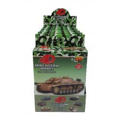 ชุดรวม 4D Model Tank รถถังประจัญบาน 2 [6 กล่อง/แพ็ค]