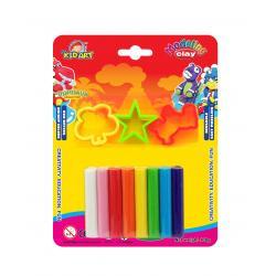ดินน้ำมัน 100 กรัม 8สี (Clay 8 Colors 100 g.)
