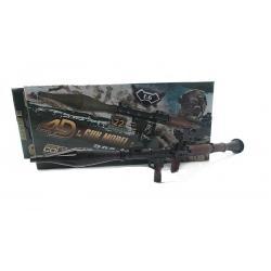โมเดลปืน 4D Model โมเดลปืนทหาร Series 3 แบบ RPG-7