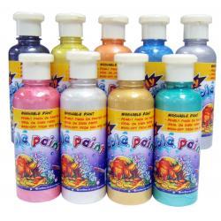 สีพรีเมียมวอชเชเบิ้ลแบบมุก 250 ml. (Premium Washable Paint Pearl)