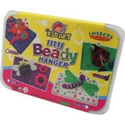 ชุดประดิษฐ์ที่แขวนพวงกุญแจเม็ดโฟม My Beady Hanger Insect Collection
