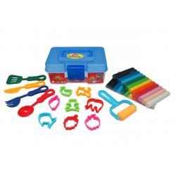 ดินน้ำมัน 400 กรัม 12สี+ แม่พิมพ์ / กล่อง