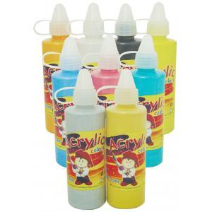 สีอะคริลิคแบบมุก 120 กรัม Acrylic Pearl Paint 120 ml