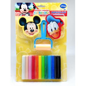 ดินน้ำมันมิกกี้เมาส์ 200กรัม+แม่พิมพ์+แบบบด (Micky Mouse 200 g Clay + Mold + Roller)