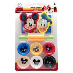 ชุดประดิษฐ์พวงกุญแจทรายปั้นมิกกี้เมาส์ (Mickey Mouse Colored Sand Key Chain)