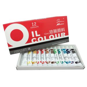 ชุดสีน้ำมัน 12 ML. 12 สี (Oil Paints 12 ml. 12 Colors)