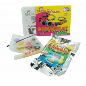 ดินธรรมชาติ : ชุดประดิษฐ์ กำไลมือ (D.I.Y. Air Hardening Clay: Bracelet Beads)
