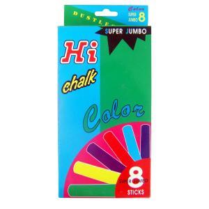 ชอล์คสีขนาดจัมโบ้ 8 แท่ง (Sidewalk Jumbo Chalks)