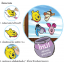 ชุดเพ้นท์สีกระจกหมีพู (Winnie the Pooh Glass Sticker) thumbnail 8