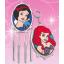 ชุดประดิษฐ์เปเปอร์มาเช่แสนสวย (Disney Princess Paper Mache Key chain & Wind Chimes) thumbnail 7