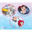 ชุดประดิษฐ์เปเปอร์มาเช่แสนสวย (Disney Princess Paper Mache Key chain & Wind Chimes) thumbnail 16