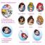 ชุดประดิษฐ์เปเปอร์มาเช่แสนสวย (Disney Princess Paper Mache Key chain & Wind Chimes) thumbnail 15