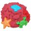ทรายปั้นธรรมชาติ 1000 g + แม่พิมพ์ (Ocean Collection Dynamic Sand 1000 g. 6 Colors + 8 Molds) thumbnail 3
