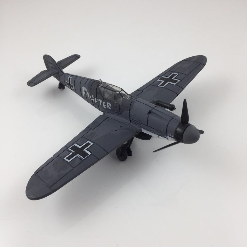 4D Model โมเดลเครื่องบินรบ รุ่น BF-109 แบบ E