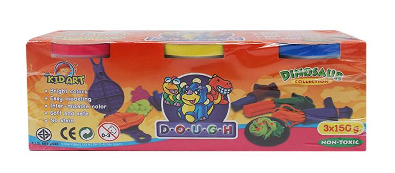 แป้งโดว์ 150 กรัม 3สี (Dough 3 Single Color 150 g)