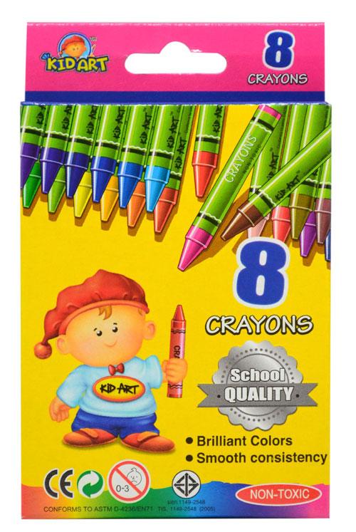 สีเทียนขนาดมาตรฐานคุณภาพโรงเรียน ( Regular Crayons- School Quality)