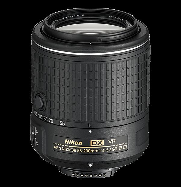 AF-S DX NIKKOR 55-200mm f/4-5.6G ED VR II