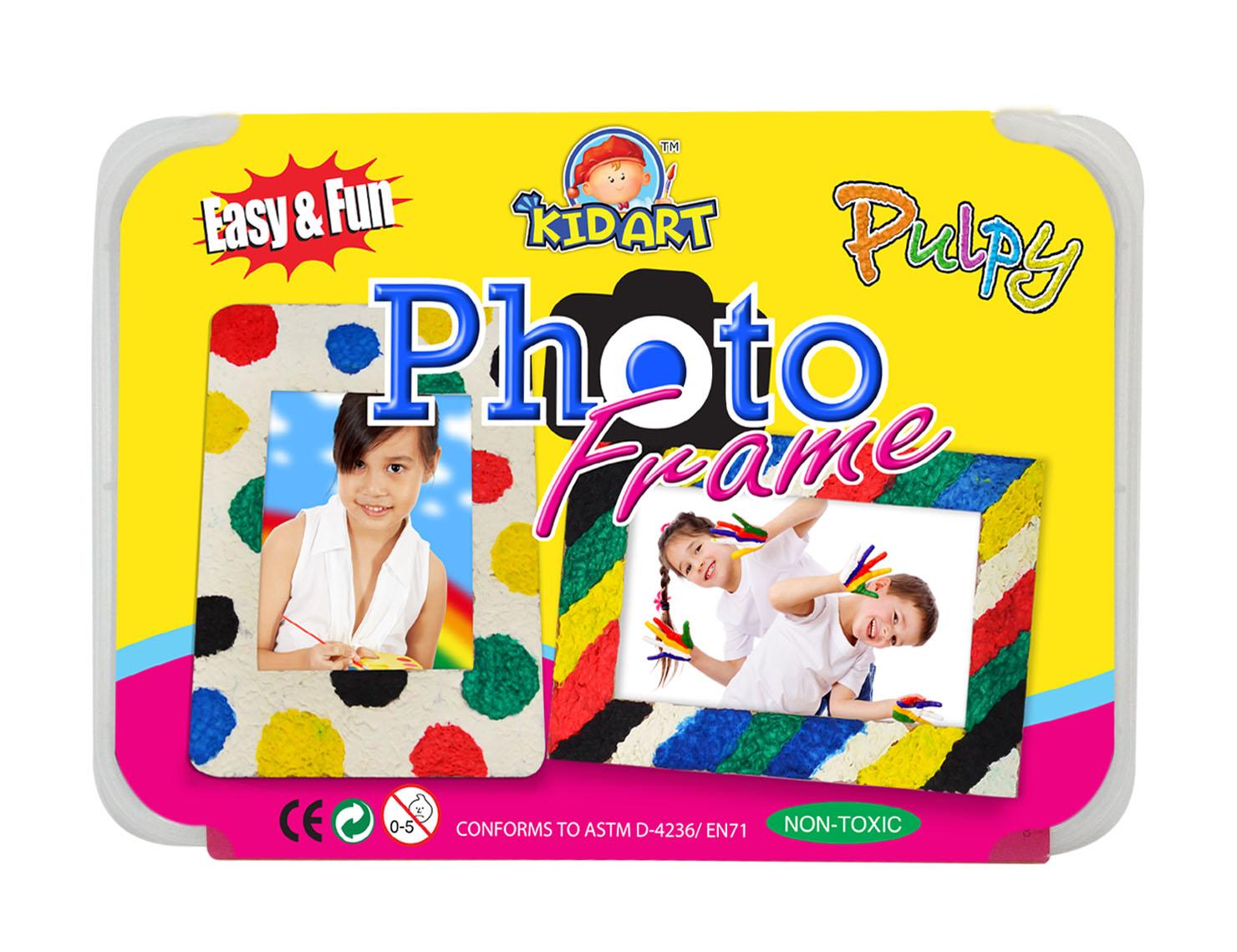 ชุดประดิษฐ์กรอบรูปเปเปอร์มาเซ่พร้อมระบายสี (D.I.Y Pulpy- Photo Frame)