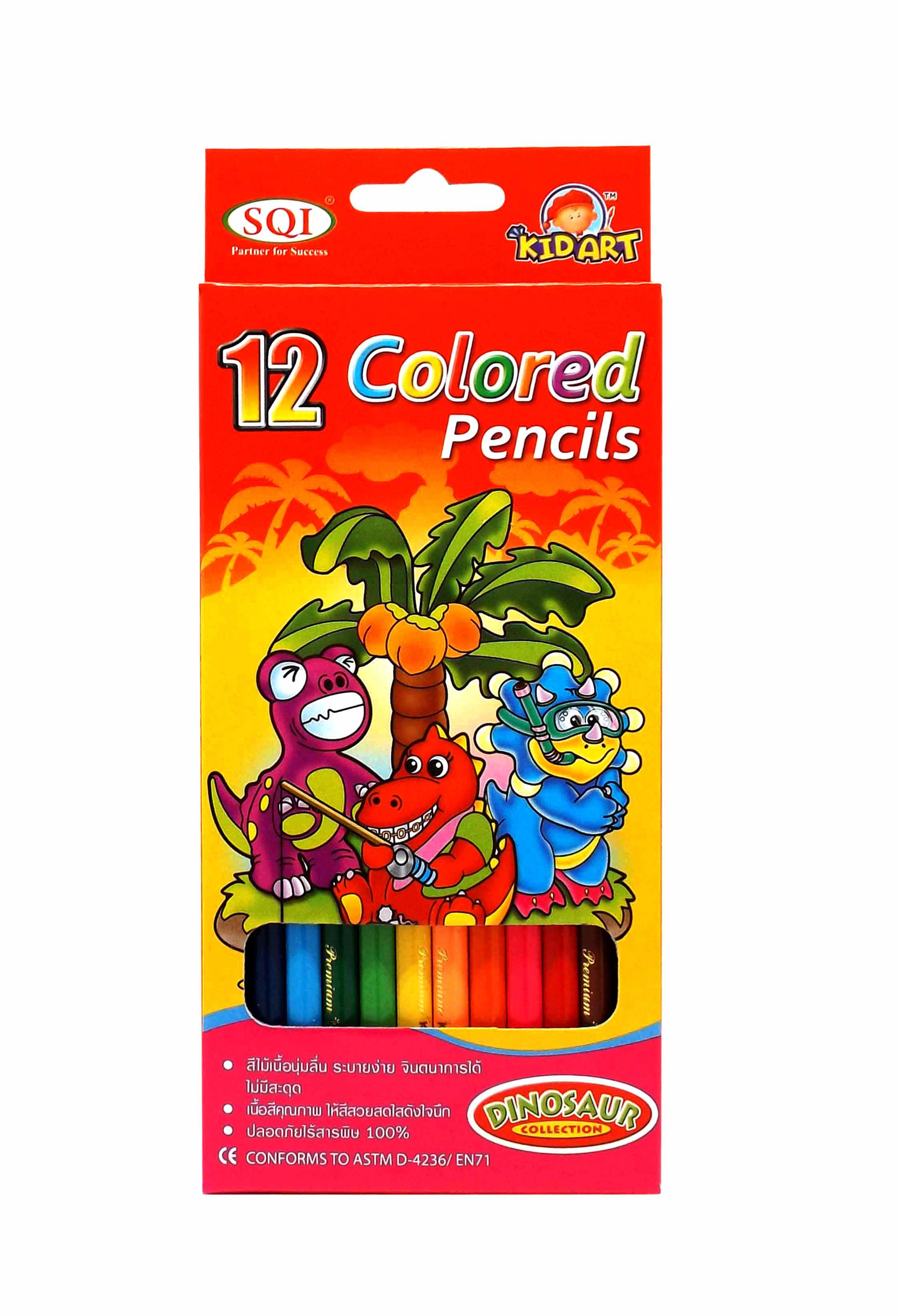 Long Colored Pencils 12 Ct.