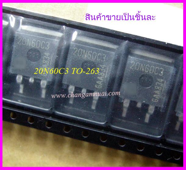 20N60C3 Fet 650v 20A