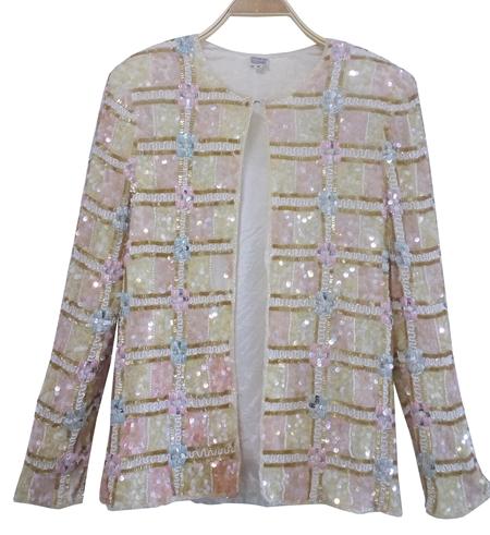 เสื้อวินเทจ เสื้อปักเลื่อม (sequin)